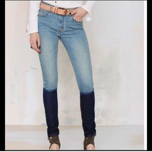 Nasty Gal Courtship Shadow Jeans